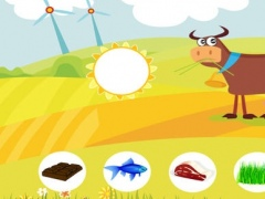 A Feed The Happy Farm Animals Kids Game – Free Interactive Experience To Learn About Good Nutrition 1.0 Screenshot
