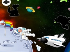 A Find the Shadow Game for Children: Learn and Play with in an Outer Space 1.0 Screenshot