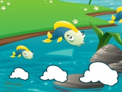 A Fishing Game for Children: Learn with Fish puzzles, games and riddles 1.0 Screenshot