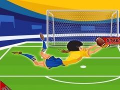 A Football Athlete Goalkeeper Rescue - Quarterback Vengeance 1.0 Screenshot