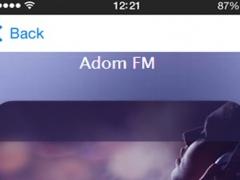 A Ghana Radio Stations News, Sports & Music 1.02 Screenshot
