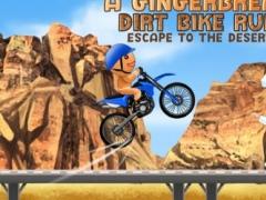 A Gingerbread Dirt Bike Run 2: Escape To The Desert – Free HD Racing Game 1.0 Screenshot