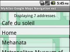 A Google Map Navigation Book 2.5 Screenshot