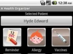 A Health Organizer 1.3 Screenshot