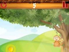 A Hungry Monkey - Sweet Banana Crunch n Flip Puzzle Game 1.0 Screenshot