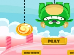 A Jelly Candies Monster Free - Pull the Rope and Cut to Chomp on the Candy 1.1 Screenshot