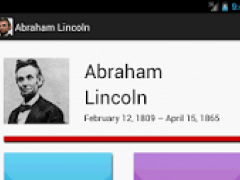 A. Lincoln Biography & Quotes 1.0 Screenshot