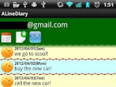 A Line Diary 0.5.2 Screenshot