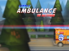 A Little Ambulance in Action Free: 3D Fun Exciting Driving for Kids with Cute Emergency Car 1.00 Screenshot