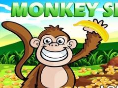 'A Monkey in the Jungle Vegas Slots Machine Casino : Banana Bonus Game 1.1 Screenshot