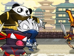A Ninja Piggies: Warrior Temple Defense 1.0 Screenshot