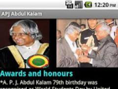 A P J Abdul Kalam 1.0 Screenshot
