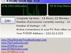 A Really Small App 2.0 Screenshot