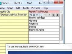 A to Z Clipboard Extender 10.00 Screenshot