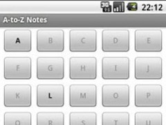 A-to-Z Notes 1.7.7 Screenshot