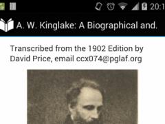 A. W. Kinglake 3.0 Screenshot