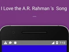 A-Z A R Rahman Hit Song 2016 1.0 Screenshot