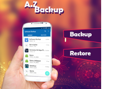 A.Z Backup : SoftWare Backup 1.2 Screenshot