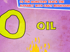 A-Z Monsters:Alphabet Learning 1.01 Screenshot