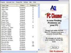 A1Click Ultra PC Cleaner 1.03.06 Screenshot
