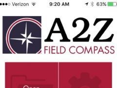 A2Z Field Compass 1.2.4 Screenshot