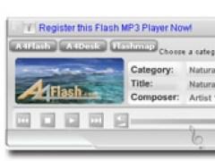 A4Desk Flash Music Player 4.10 Screenshot