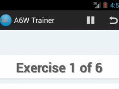 A6W Trainer-Flat Belly Workout 1.3.4 Screenshot