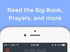 AA Big Book Free — for Alcoholics Anonymous 1.4 Screenshot