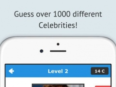 AA Guess Pro - Celebrity Edition - Movie and TV Actor Multiplayer Trivia Word Quiz Game 1.0 Screenshot