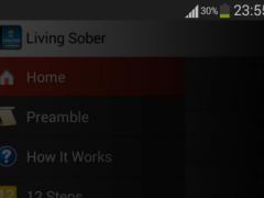 AA Living Sober - Audio Book 1.0.1 Screenshot