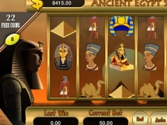 AAA Ancient Pharaoh Egypt Slots (777 Gold Bonanza) - Lucky Journey Slot Machine 2.4 Screenshot