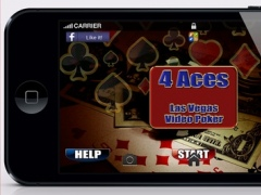 AAAA 4 Aces Video Poker HD 1.0 Screenshot