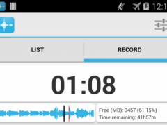AAC Voice Recorder Pro 1.3.2 Screenshot