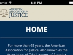 AAJ Mobile App 0.1.3 Screenshot