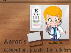 Aaron's occupations puzzles for toddlers 1.0 Screenshot