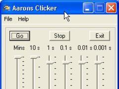 Aarons Cliker 2.89 Screenshot