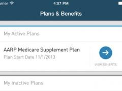 AARP Supplemental Health Insurance Plans Mobile App 1.1.1 Screenshot