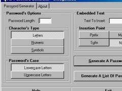 AB Password Generator 2.33 Screenshot