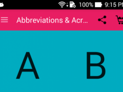 Abbreviations & Acronyms 4.0 Screenshot