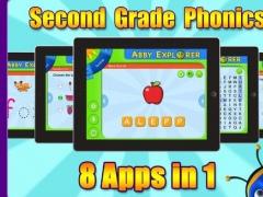 Abby Explorer Phonics - Second Grade Kids Edition HD 1.0 Screenshot