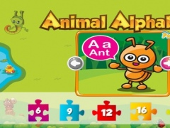 ABC Alphabet Animal Puzzle For Kids and Preschools 2.0 Screenshot