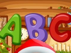 ABC Alphabet Tracing Easy Draw Color Christmas Day 1.0 Screenshot