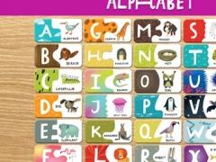 ABC Animal Puzzle. Free 1.1 Screenshot