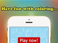 ABC Coloring Book for children age 1-10 (Alphabet Upper): Drawing & Coloring page games free for learning skill 1.0.2 Screenshot