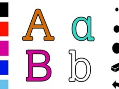 ABC Coloring book for toddlers: Learning to write and draw the letters of the alphabet with many pictures for school, preschool and kindergarten 1.0 Screenshot