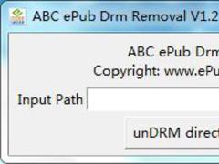 ABC ePub Drm Removal 1.4.0.1 Screenshot