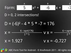 ABC-Form Tool 1.0.2 Screenshot