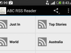 ABC News RSS Reader 1.0 Screenshot