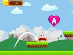 ABC's Learning Easy Car Runner Game for Princess Elsa 1.0.0 Screenshot