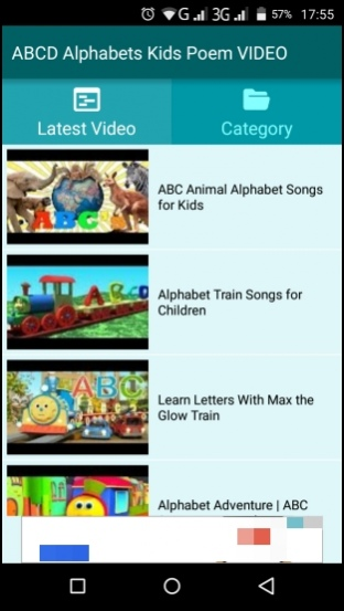 ABCD Alphabets Kids Poem VIDEO 1 0 Free Download